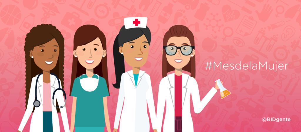 Mujeres en el sector salud, ¿la balanza se inclina a su favor?