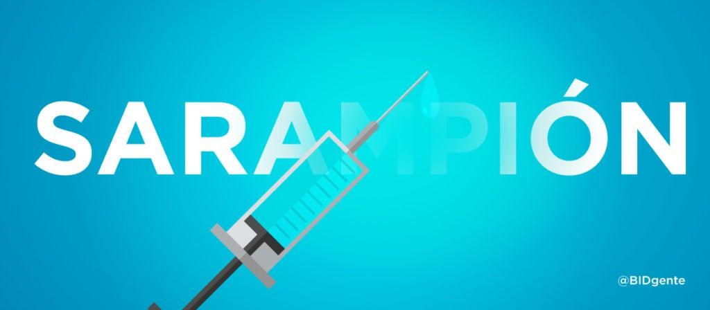 El sarampión, una enfermedad prevenible por vacunación