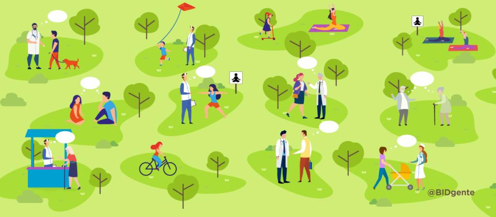 ¿Qué estrategia usarías para promover la salud en tu comunidad?