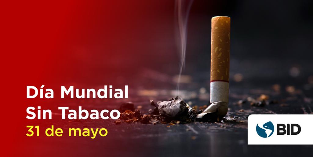 día mundial sin tabaco cigarillo apagandose