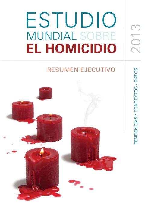 Siete claves del informe UNODC 2013 sobre homicidios