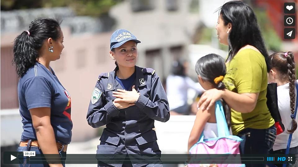 Video: una nueva policía para Honduras
