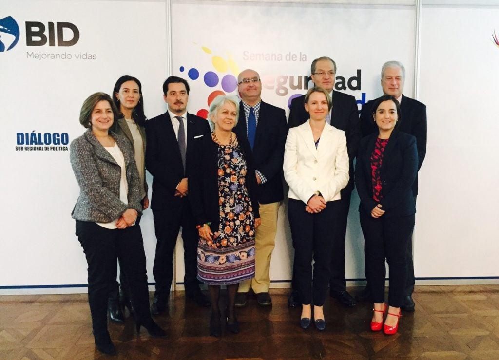 Un Grupo Asesor de primer nivel para nuestra Iniciativa de Seguridad Ciudadana