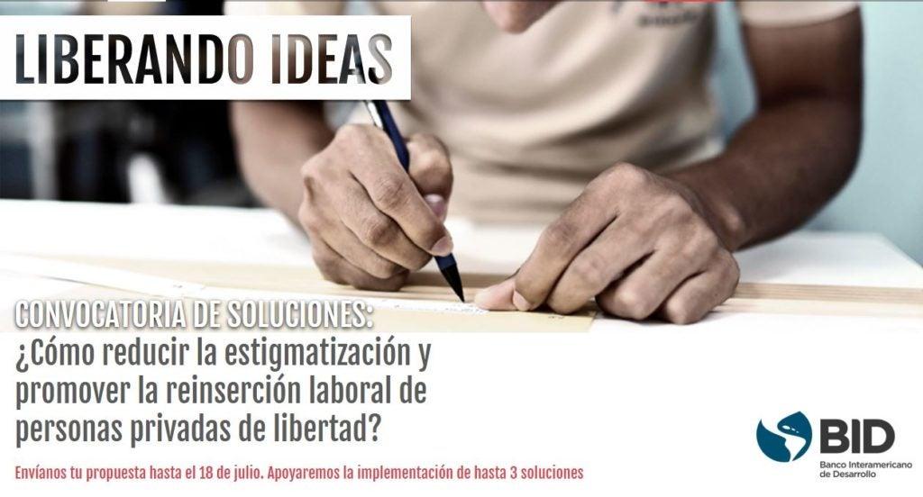 Invitación a nuestro concurso de reinserción social y laboral para los privados de libertad