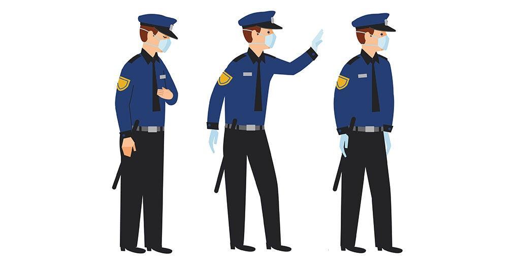 Policía y COVID-19: ¿Cómo respondieron las agencias policiales a la pandemia?