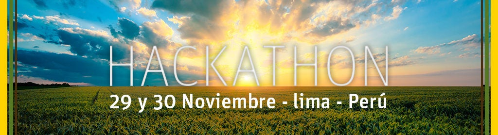 Concursa en este Hackaton de agricultura sostenible adaptada al clima