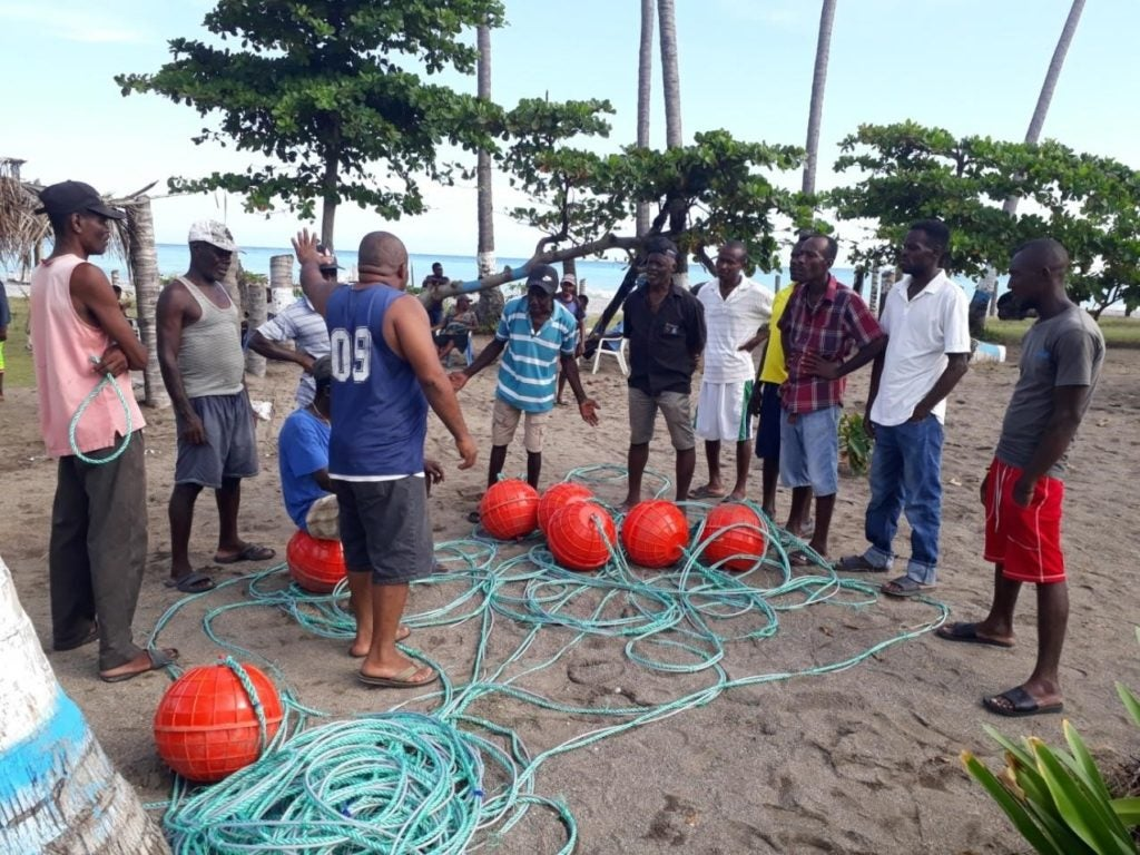 An innovative approach to support fishers' associations in Haiti: moving from grants to co-financing!