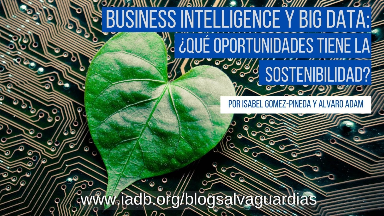 Business intelligence y Big Data: ¿Qué oportunidades tiene la sostenibilidad?