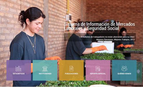 El SIMS es el mayor portal de datos abiertos sobre mercados laborales y seguridad social de América Latina y el Caribe