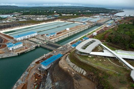 A ampliação do Canal do Panamá consolida o país como um centro de logística