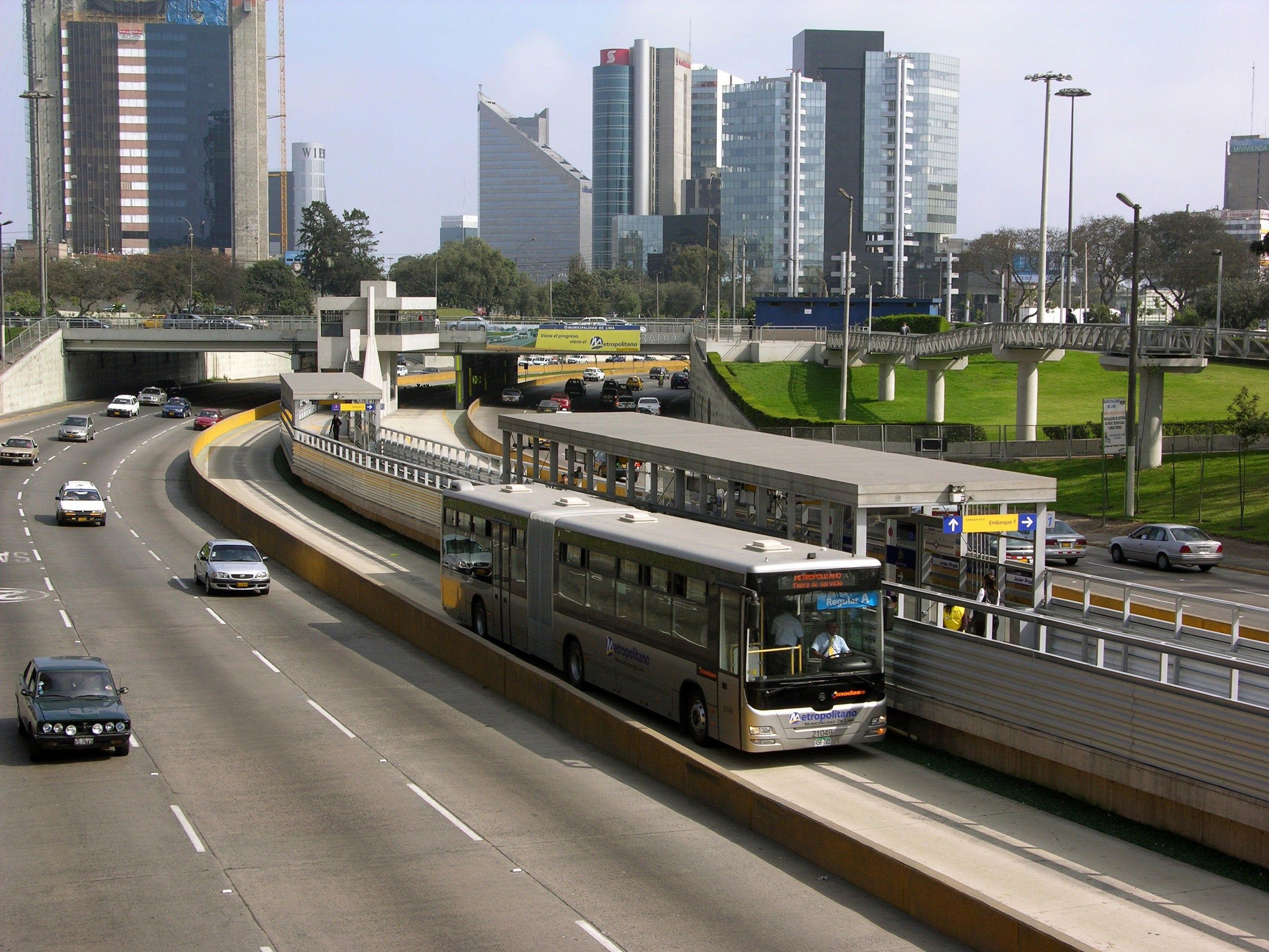 financiamiento de transporte público