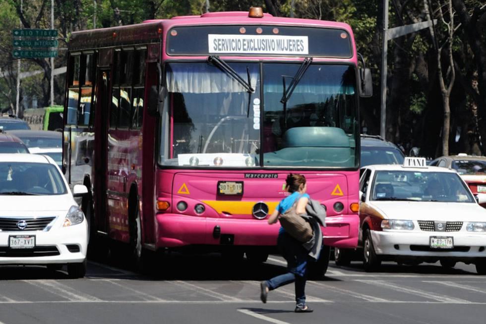 Autobús exclusivo para mujeres en Ciudad de México. BLOG MUJERES