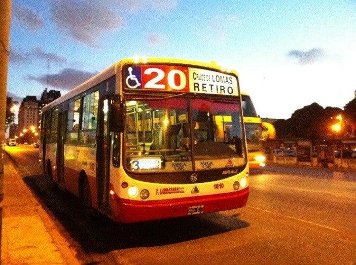 servicios de transporte público