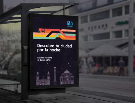 El transporte público no descansa: Nochebús de la Ciudad de México