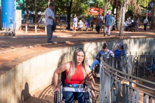 Reconociendo la importancia de construir calles y espacios públicos adecuados en el área central de Campo Grande