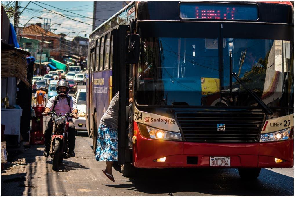seguridad vial paraguay