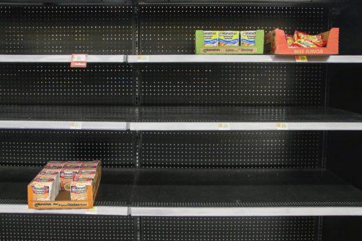 Coronavirus y el desafío de las estanterías de supermercados vacías