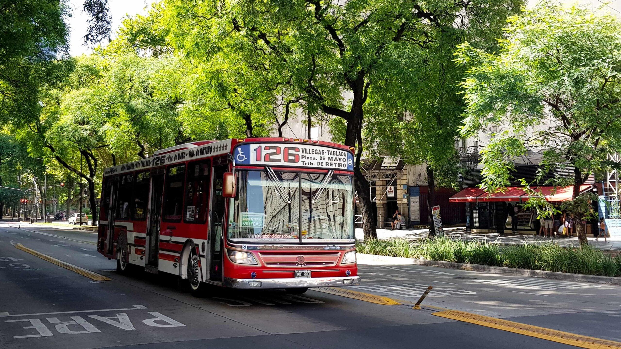 movilidad urbana Buenos Aires