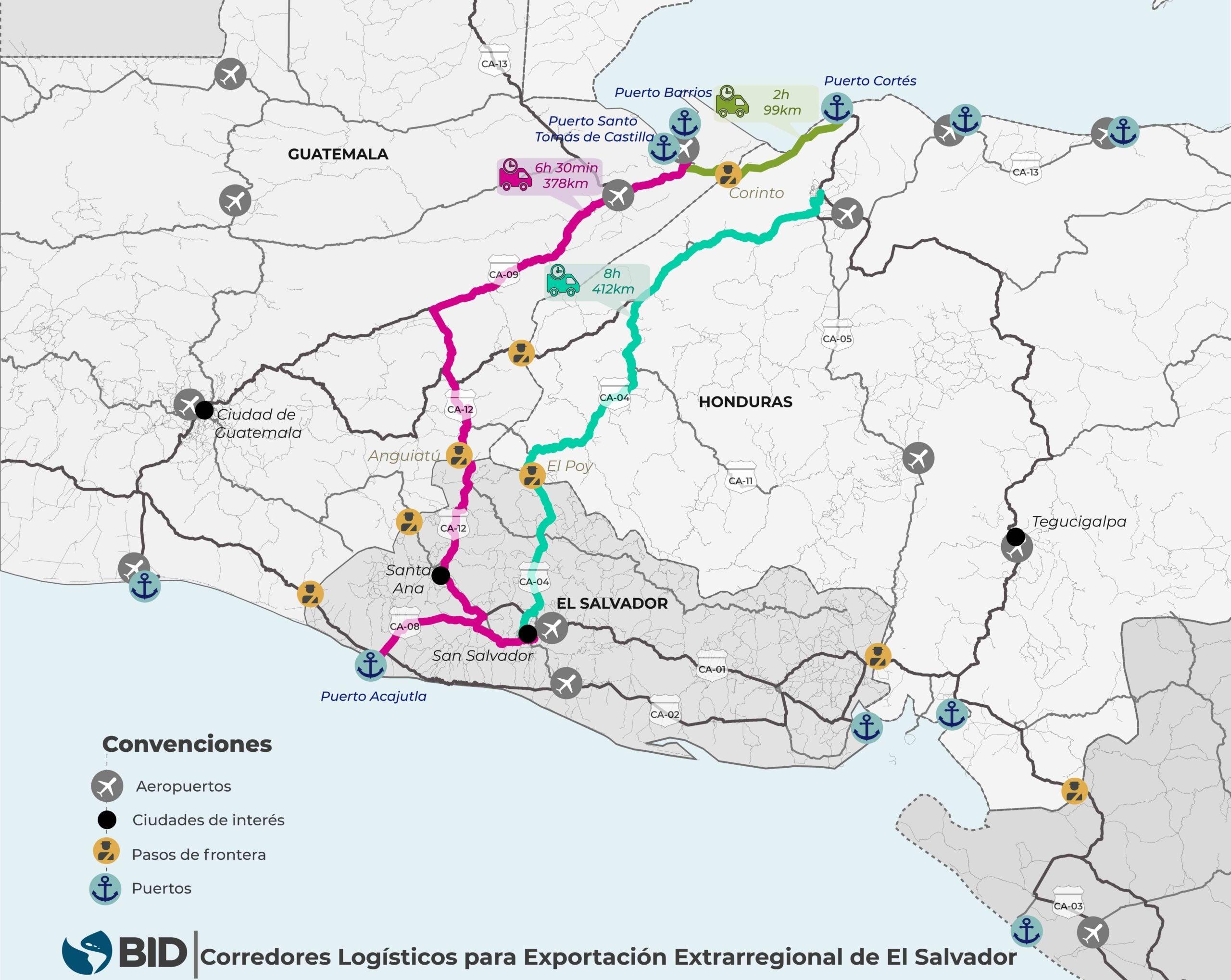 3 proyectos de infraestructura de integración de alto impacto para 3 cadenas de valor de América Latina